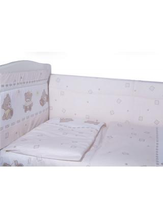 Борт в кроватку МИШКА