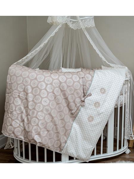 """Комплект для овальной и прямоугольной кроватки """"Ривьера"""""""