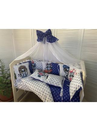 Комплект в детскую кроватку  (7 предметов)