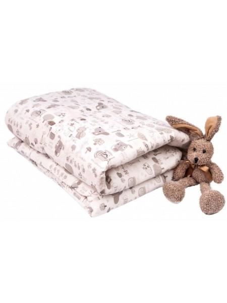 Одеяло лебяжий пух\тик 110х140 см