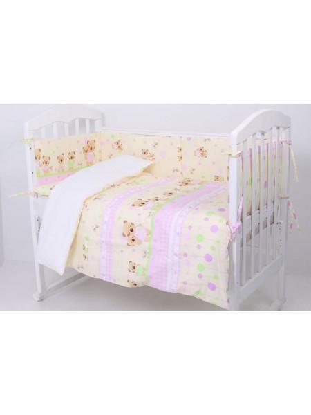 Комплект белья в кроватку Топотушки Дружная Семейка 6 предметов 641