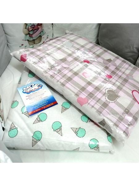 Подушка в кроватку 40 х 60 см