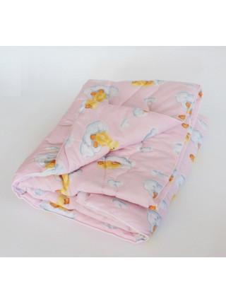 Одеяло  шерсть Бязь 140 X 110 см детское