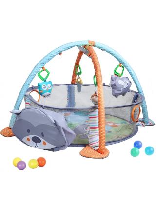Развивающий коврик ЕНОТИК 3в1 с шариками