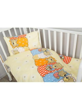 Постельное белье в кроватку Лежебоки 3 предмета