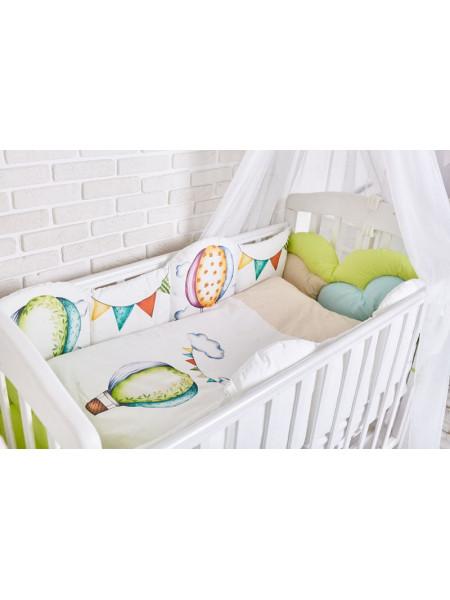 Комплект белья в кроватку Топотушки Воздушные шары 6 предметов арт.691