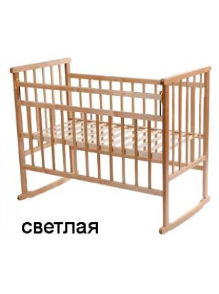 Кровать Мой Малыш 2 - качалка с боковой планкой