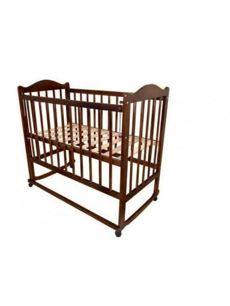 Кроватка Мой малыш 5 - качалка с опускающейся передней стенкой.
