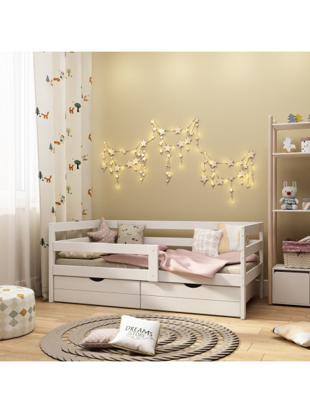 Кровать подростковая «Соня» белая, 160х80 арт. 2011