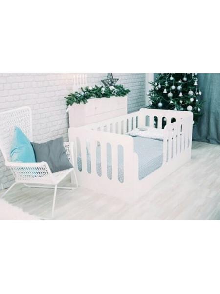 """Кровать подростковая """"Wooden bed""""-3 (160*80)"""