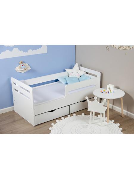 Кровать подростковая «Wooden bed»-4 160*80см