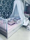 Кровать подростковая «WOODEN BED-2»